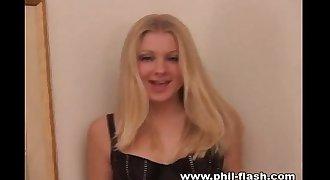 Tiffany Teen in Black underpanties