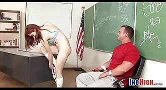 Redhead Petite schoolgirl fuck 10 81