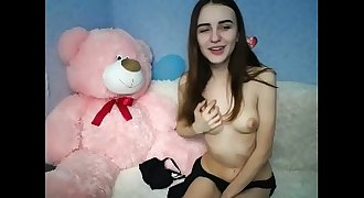 POV Teenage CamsCa.com Horny Petite Teenager Plays Perfect Body  Ep1 High