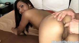 Eva Fenix Makes Her Cuck Slave Watch As She Get Ass Fucked!