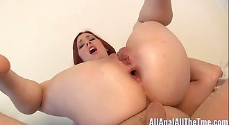 Teenage Melody Jordan Take a Double Anal invasion Creampie for All Anal!