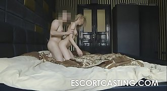 Teen Russian Escort Secretly Filmed Anal invasion